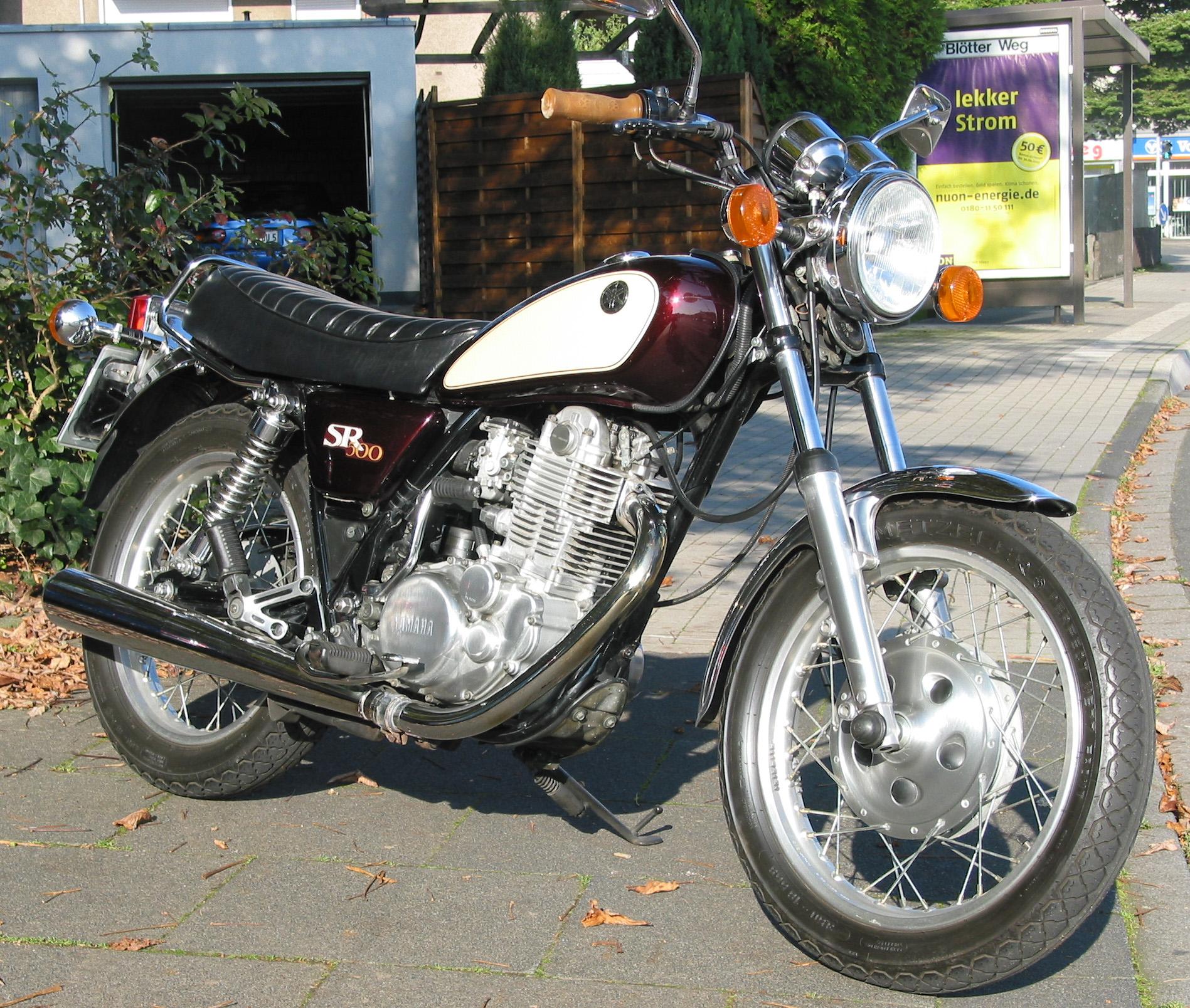Yamaha Sr 500 48t Oldtimerevents De