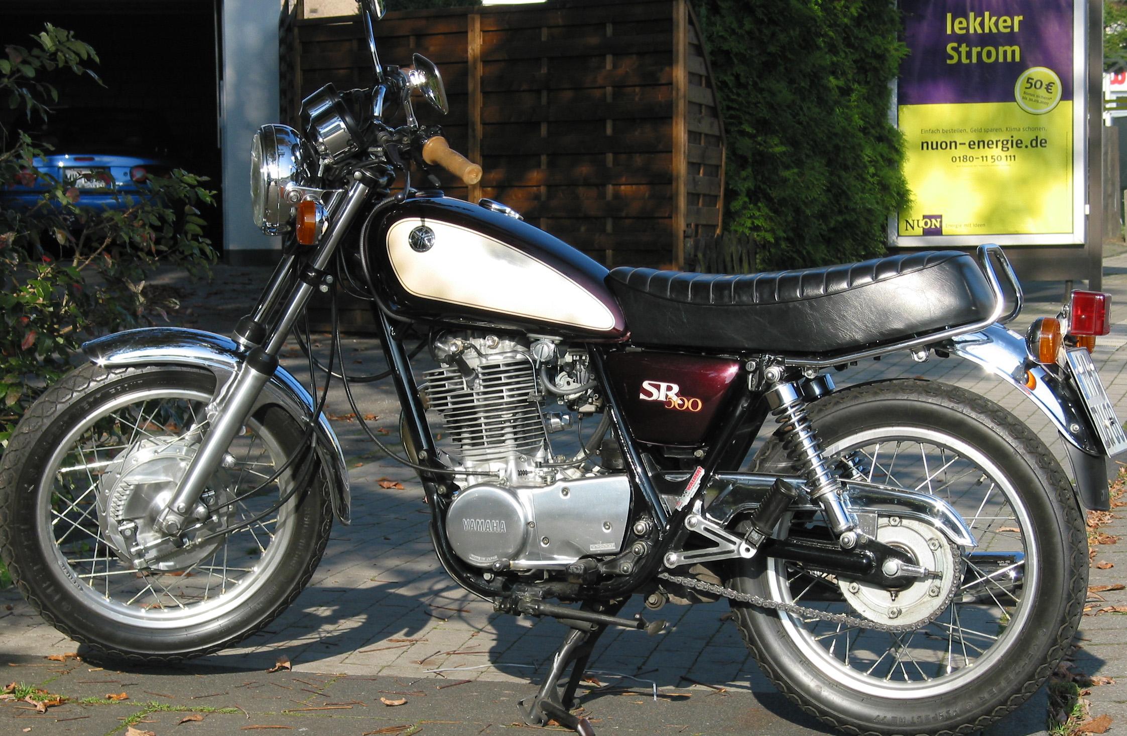 Yamaha SR-500