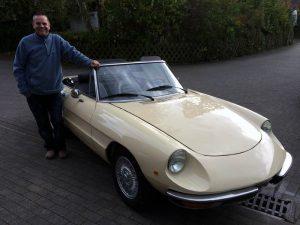 Alfa Romeo Spider 1300 Restauration
