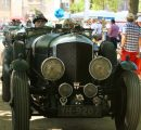 Chris William auf Bentley bei den Classic Days auf Schloss Dyck 2018