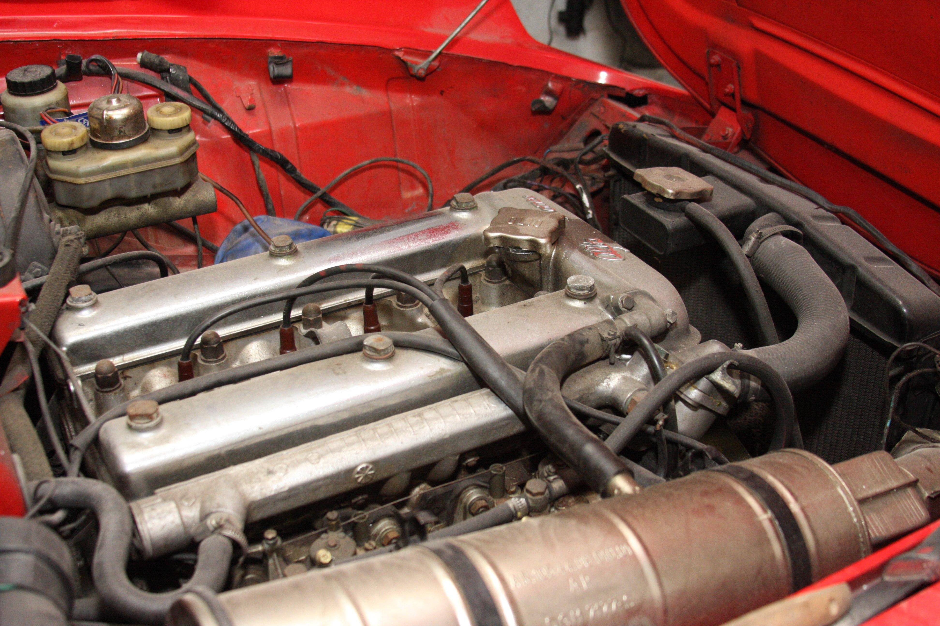 Alfa Romeo 1300 Spider Restaurierung