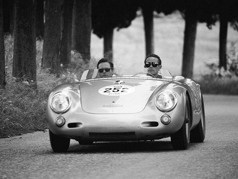 Mille Miglia - Porsche 550 Spyder