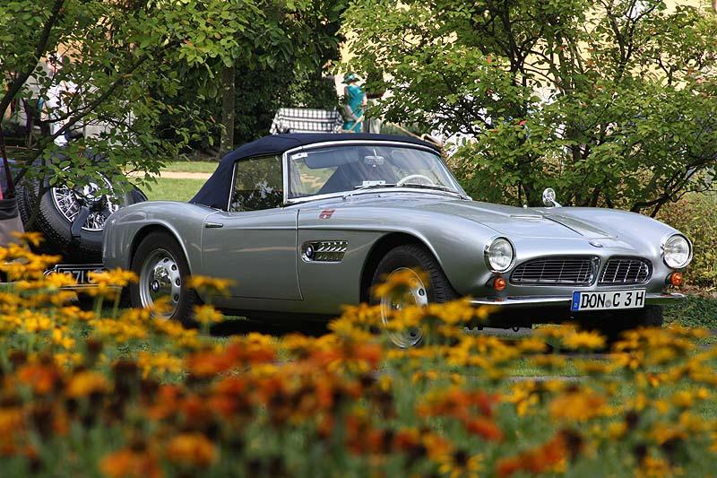 BMW 507 auf den Classic Days Schloss Dyck 2014