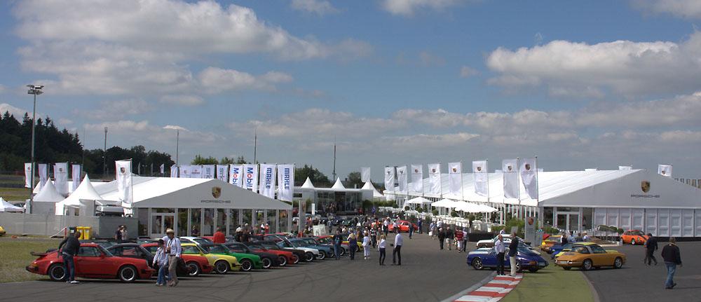 Porsche beim Oldtimer Grand Prix