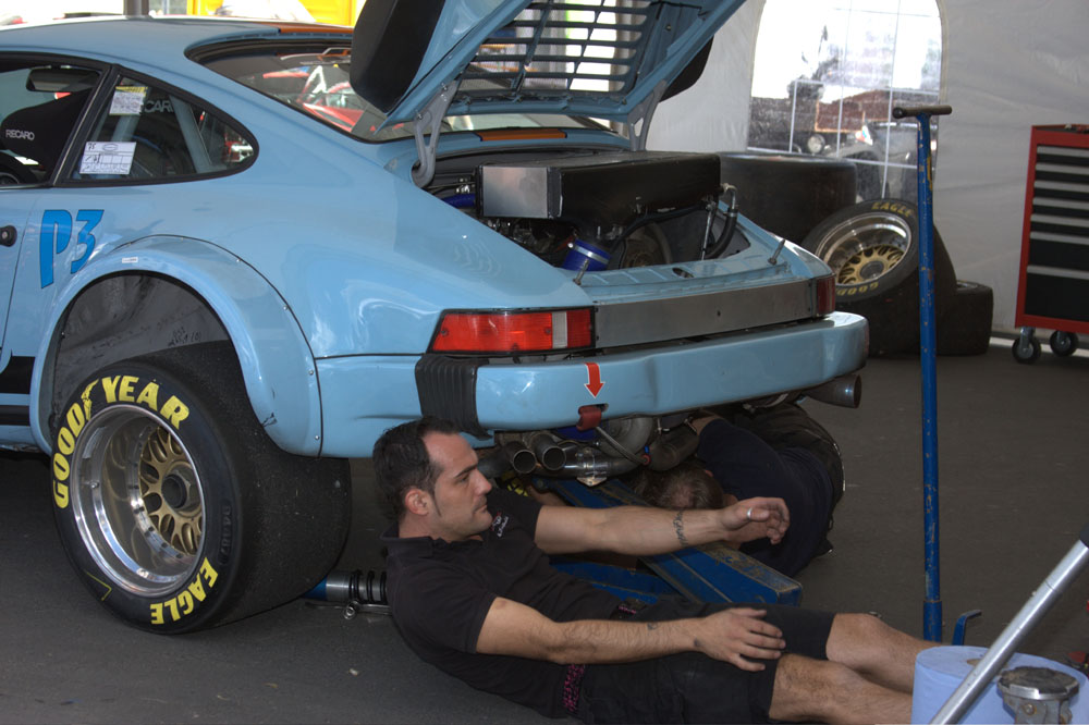 Porsche beim Oldtimer-Grand-Prix (1)