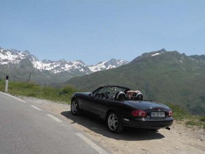 Alpen-Tour mit Blick auf 3000er