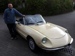 Alfa Romeo Spider 1300 Restauration