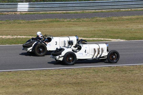 Mercedes SSKL auf dem Nürburgring beim Oldtimer Grand Prix