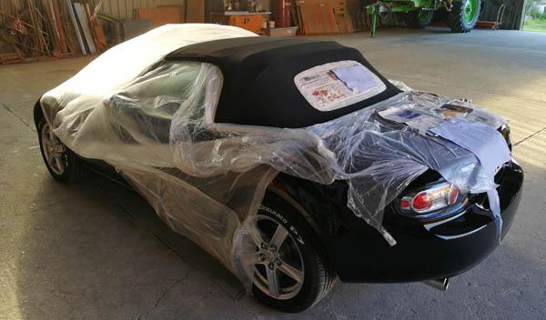 Mazda MX-5 NC Verdeckpflege
