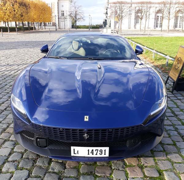 Probefahrt Ferrari Roma